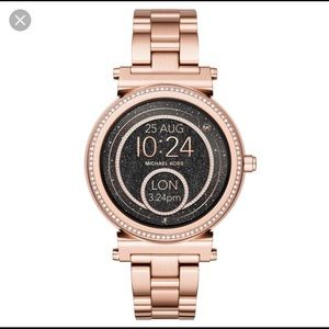 MICHAEL KORS smartwatch rose gold